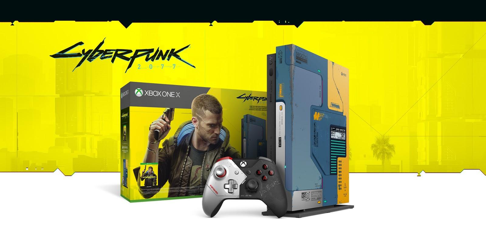 Cyberpunk 2077, serie limitata console e accessori Xbox One X