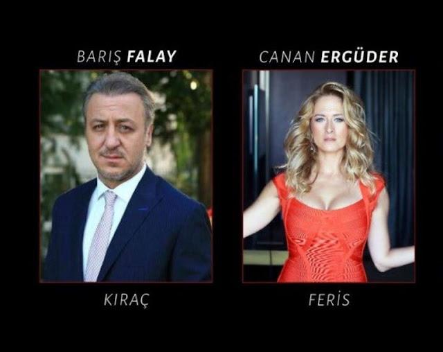 مسلسل تركي جديد يجمع كل من باريش فالاي وجانان ارغودار.