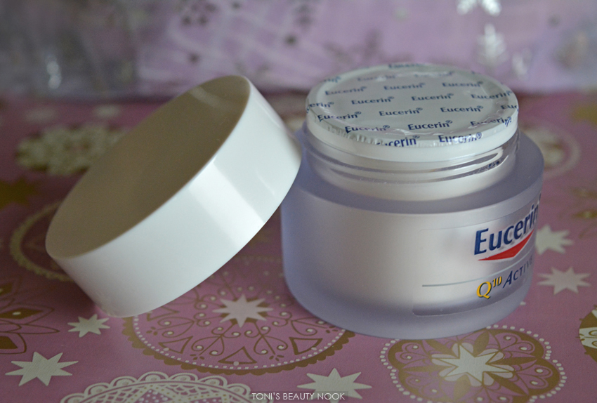 eucerin q10 active anti wrinkles dry skin