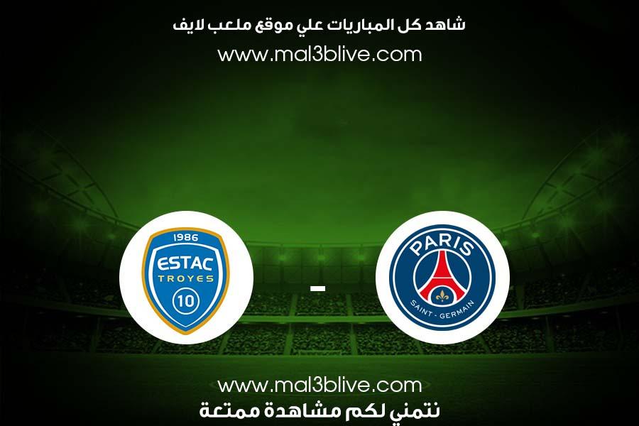 مشاهدة مباراة تروا وباريس سان جيرمان بث مباشر اليوم الموافق 2021/08/07 في الدوري الفرنسي