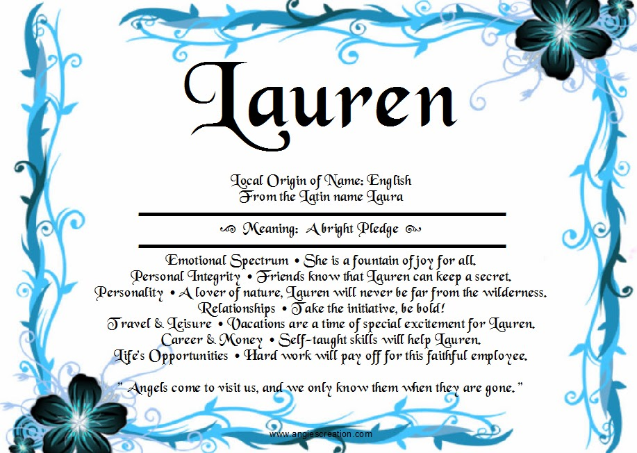 1000+ images about Names & Their Meanings on Pinterest ... - photo#10