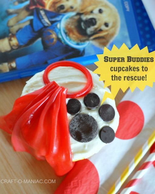 Disney Super Buddies Cupcakes