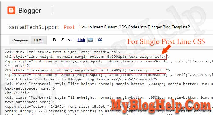 How to Insert Custom CSS Codes into Blogger Blog Theme? ~ MyBlogHelp ...