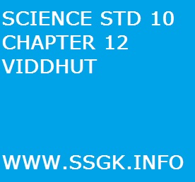 SCIENCE STD 10 CHAPTER 12 VIDDHUT