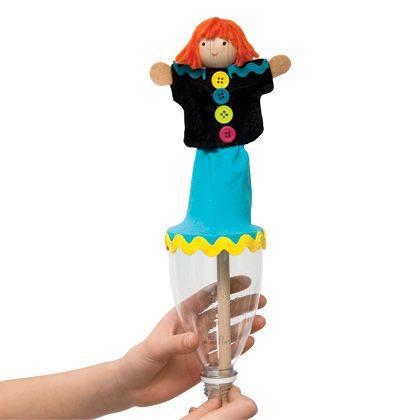 Make a Pop Up Puppet