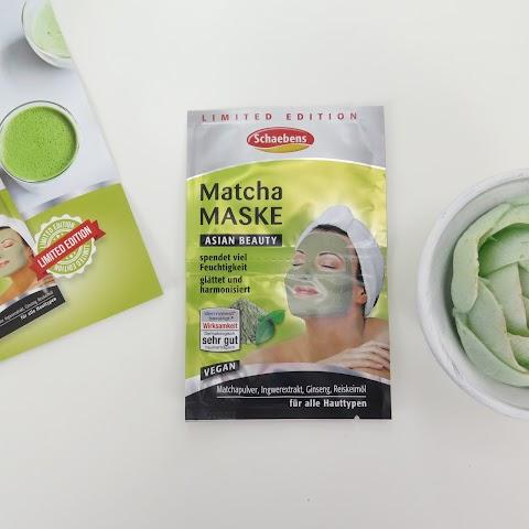 Schaebens Matcha Maske veido kaukė su žaliaja arbata*