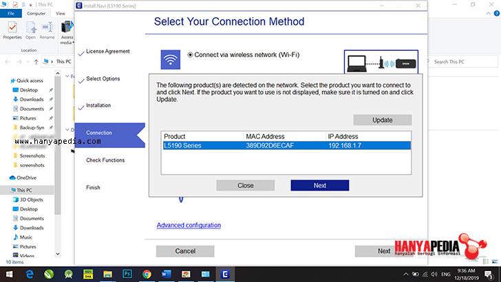 Artikel kali ini aku akan share terkait  Cara Install dan Setting WiFi Printer Epson L5190 Series