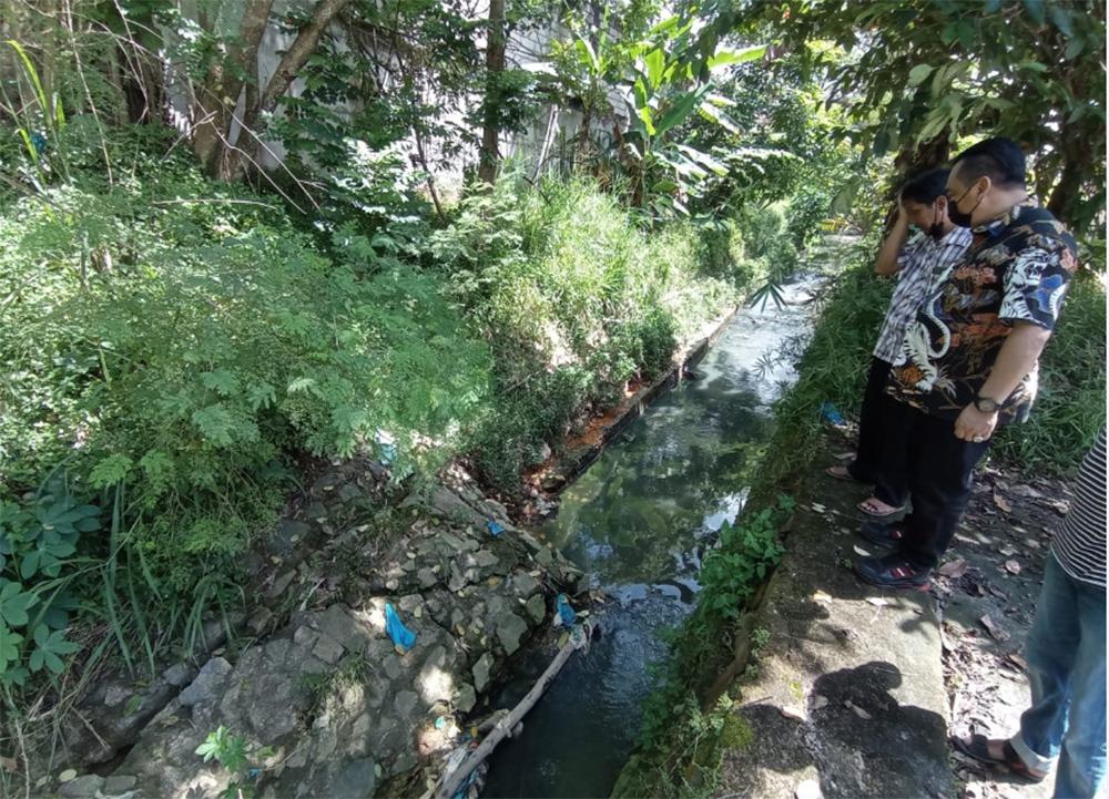 Ketua Komisi III DPRD Kepri Sidak Drainase Legenda Bali Lantaran Sering Dilanda Banjir