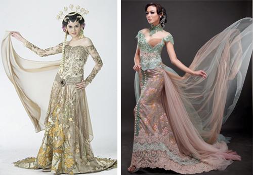 model baju kebaya pengantin