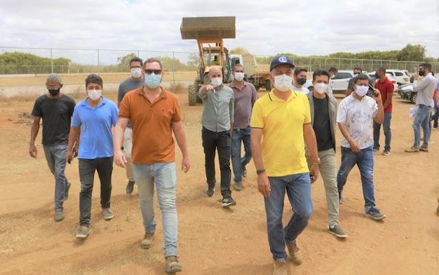 Prefeitura de Irecê realiza 'Operação de Limpeza' no povoado de Achado