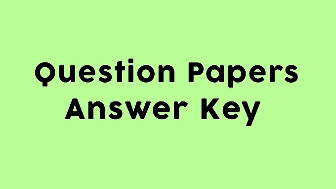 Bin Sachivalay Clark Answer Key 2019 PDF Download
