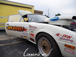 Ford 545 Rice Rocket Dragster front angle