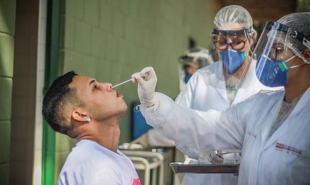 Covid-19: Brasil tem 173,8 mil mortes e 6,38 milhões de casos