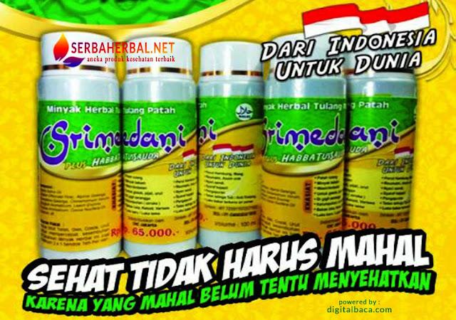 SRIMEDANI Minyak Herbal Terbaik | Ramuan Tradisional 100% Asli Indonesia