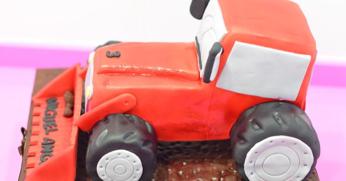 Medusa S Cakes Tarta Tractor