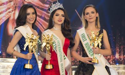 Hương Giang Idol đăng quang Hoa hậu Chuyển giới Quốc tế 2018