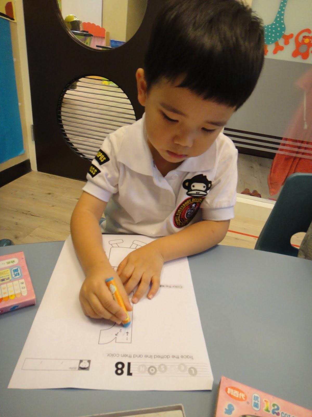 Hess American Preschool Apple Class May