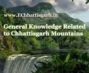 General Knowledge Objective Questions Related to Chhattisgarh Mountains by www.EChhattisgarh.in