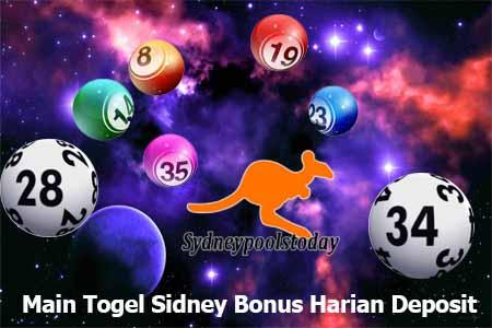 Main Togel Sidney Bonus Harian Deposit
