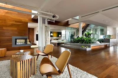 Koleksi Desain Interior Rumah Kayu Modern Terbaik