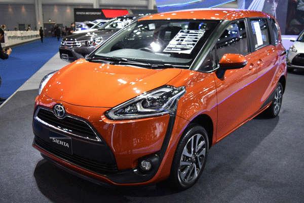 4. Toyota Sienta
