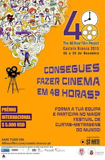 Comunicado - Castelo Branco 48 Hours Film Project 2015
