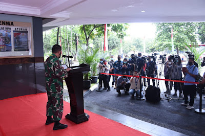 TNI Akan Siapkan Seluruh Potensi dan Kemampuan Yang Dimiliki