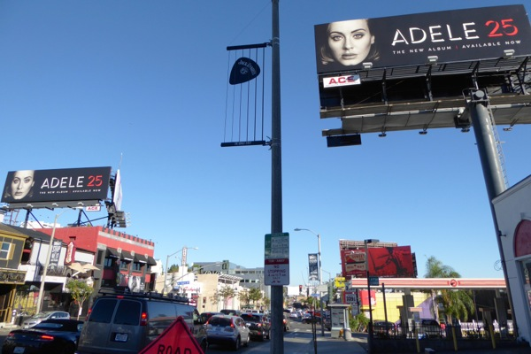 Adele 25 album billboards