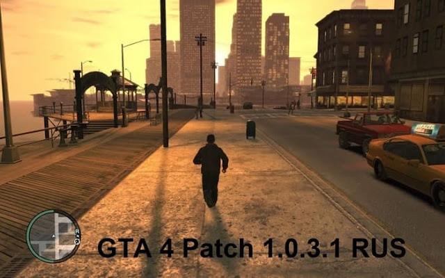 GTA 4 الباتش الرسمي الرابع للإصدار 1.0.3.1 النسخة الروسية