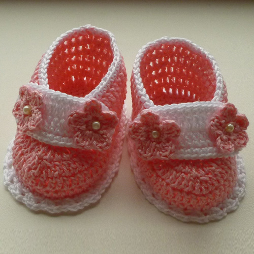 TASHA baby shoes - Free Pattern