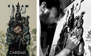 Un nuevo cartel de Pedro Líndez para la Semana Santa de Almería