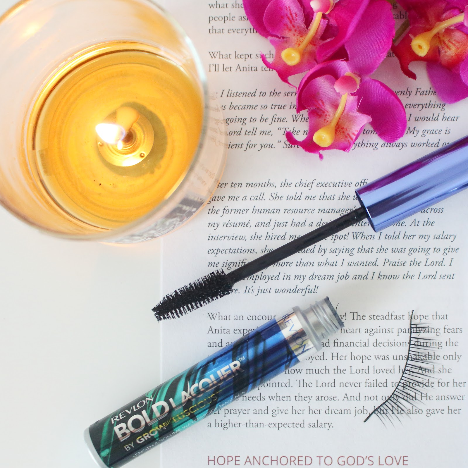 Revlon Bold Lacquer by Grow Luscious Length and Volume Waterproof Mascara in Blackest Black  Product Review
