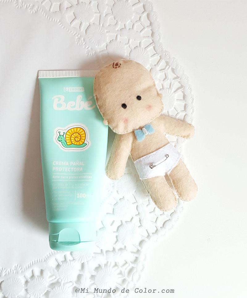 Crema para proteger el culete de mi bebé Eroski