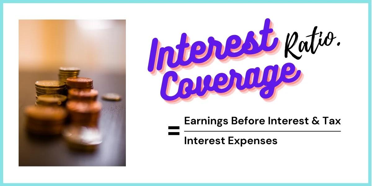 interest coverage ratio formula explained graphics by zerobizz