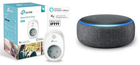 Amazon Echo Dot + TP-Link HS100