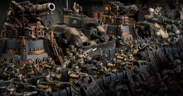Cadia's Creed: Warhammer 40k and the Imperial Guard
