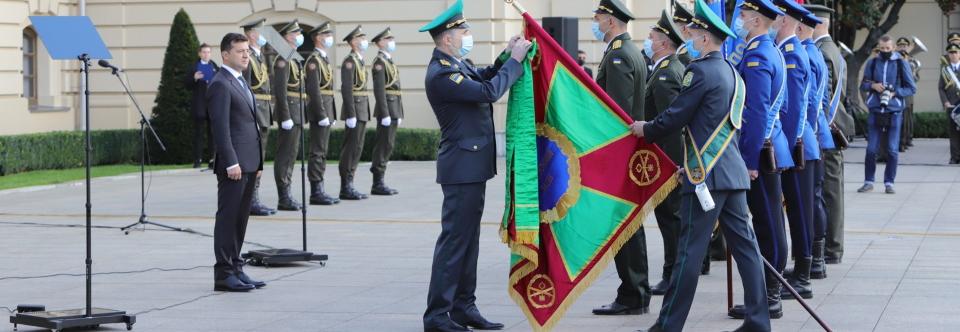 Житомирській прикордонний загін отримав почесне найменування імені Січових Стрільців