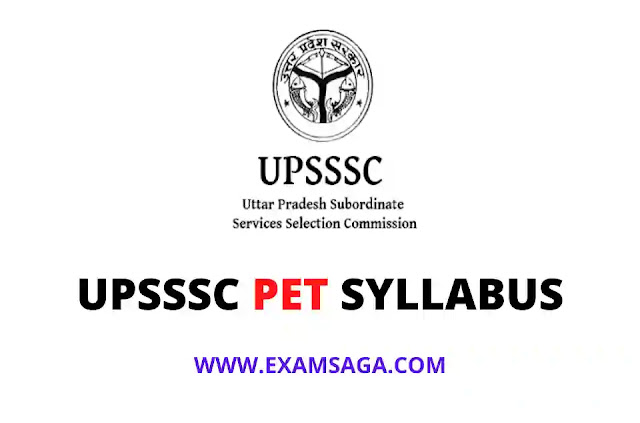UPSSSC-PET-SYLLABUS