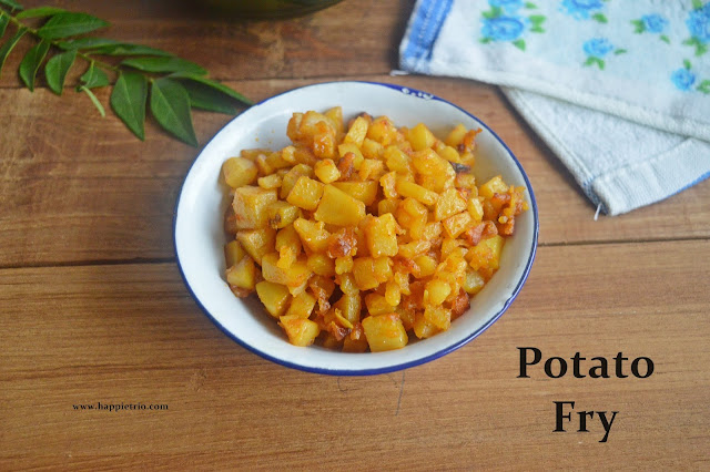 Potato fry Recipe