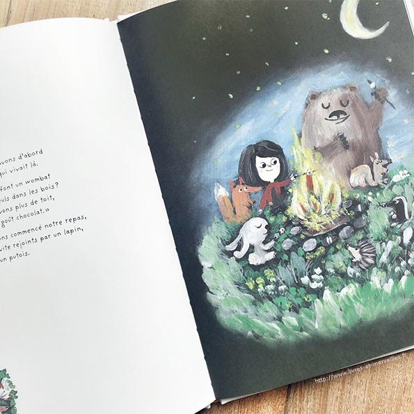 Album jeunesse : Wombat et moi