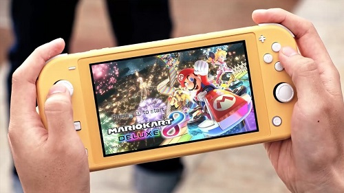 Play Handheld Games on Switch Lite