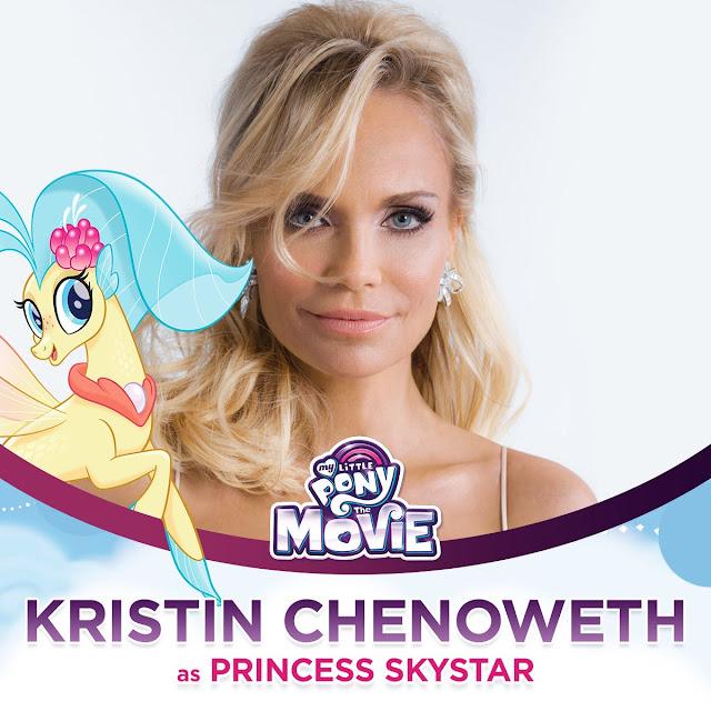 Kristin Chenoweth Princess Skystar the My Little Pony Movie