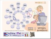 http://ntic.educacion.es/w3/eos/MaterialesEducativos/mem2008/matematicas_primaria/numeracion/operaciones/espiralnumerica.swf