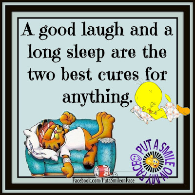The two best cures for anything.