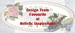 Design team favourites  Artistic Inspiration challenge