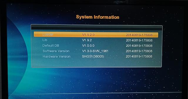 SHG51VER2.0 BOARD TYPE HD RECEIVER DUMP FILE