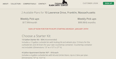 Compost service coming to Franklin, sign up for a plan to begin Jan 25