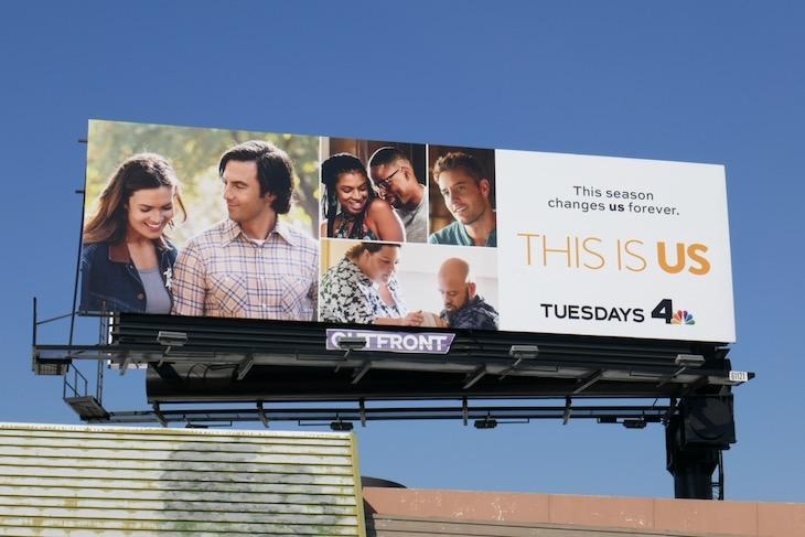 This Is Us season 5 NBC billboard