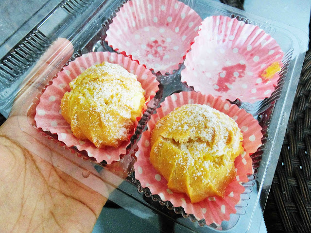 Cream Puff Dengan Custard Diplomat Cream