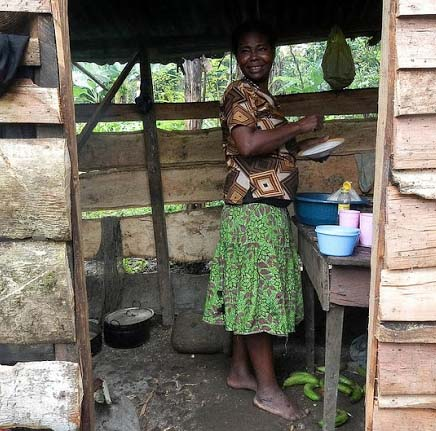 African food sayings proverbs and quotes in DRC kitchens